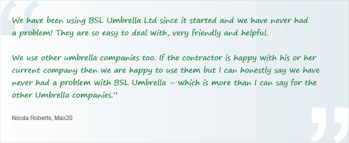 umbrella services Manchester